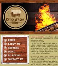 Chuck Wagon BBQ Website