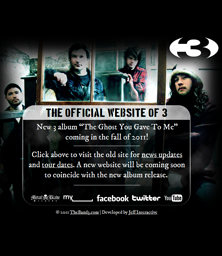 The Band 3 Landing Page
